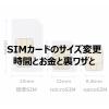 【覚えておこう】格安スマホの機種変の時はSIMカードのサイズに注意しよう