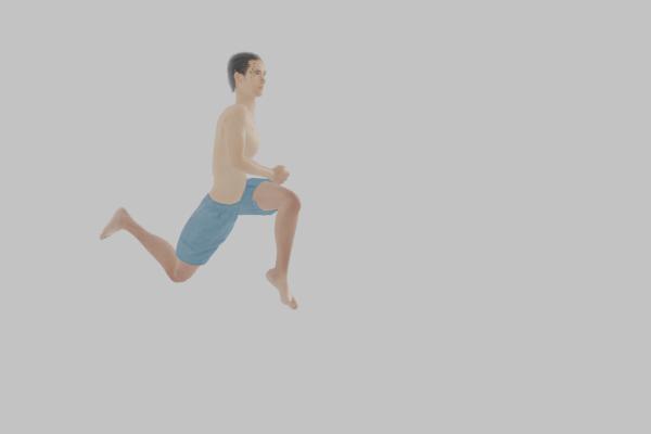 ボディコンバットの花形的な動き!両足で飛び上がって膝を放つムエタイの技、ジャンプニー