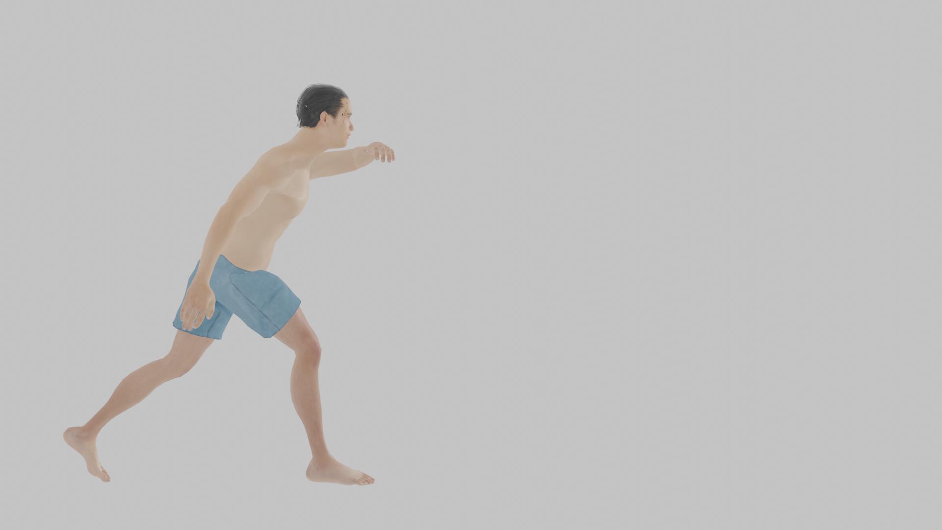 腰を落として顔面を守りつつ左右にゆらゆら移動する、カポエイラの基本ステップ、ジンガ